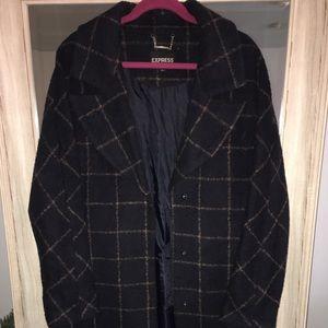 Express Women's Wool Coat